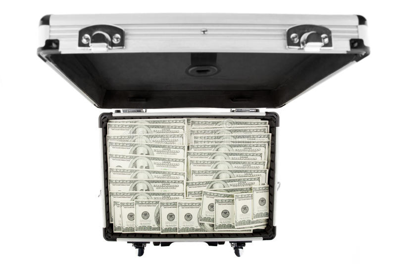 Download Image suitcases of dollars stock photo. Image of american - 23869384