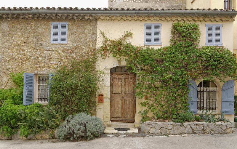 Image Taken In France 2013 Of A Typical French House Mougins Old Town This Is Famous For Being Where Picasso Lived And Died