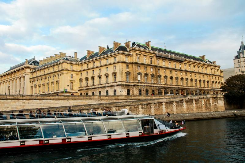 Nice view in Paris stock photography