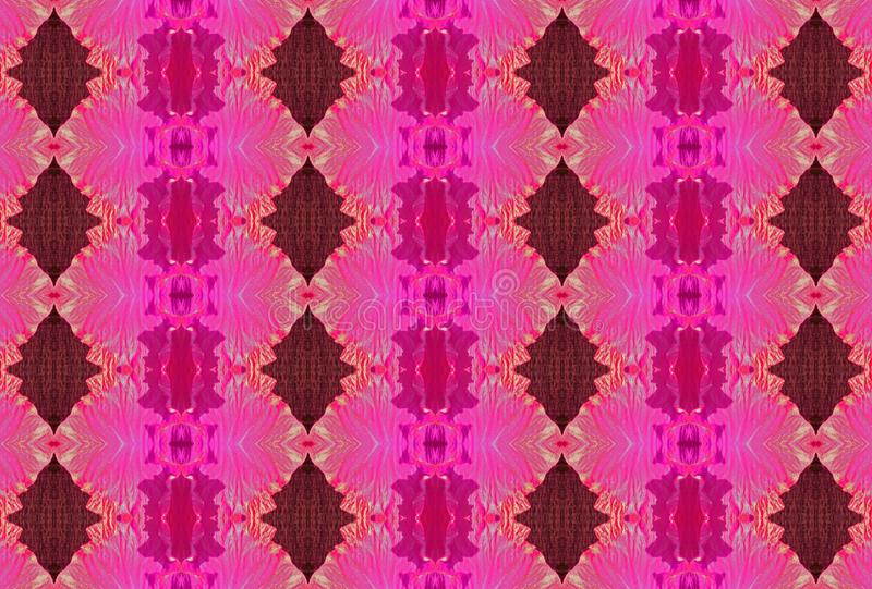 BRIGHT PINK TEXTURED REPEAT PATTERN stock illustration