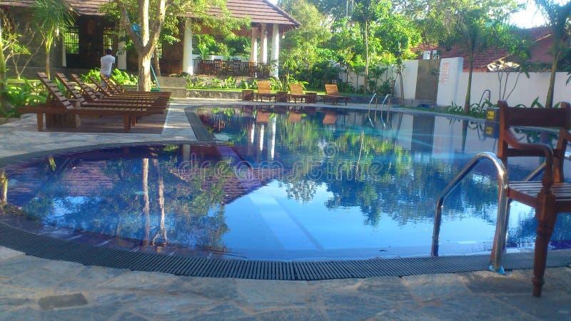 Thissamaharamaya pool of sri lanka royalty free stock images