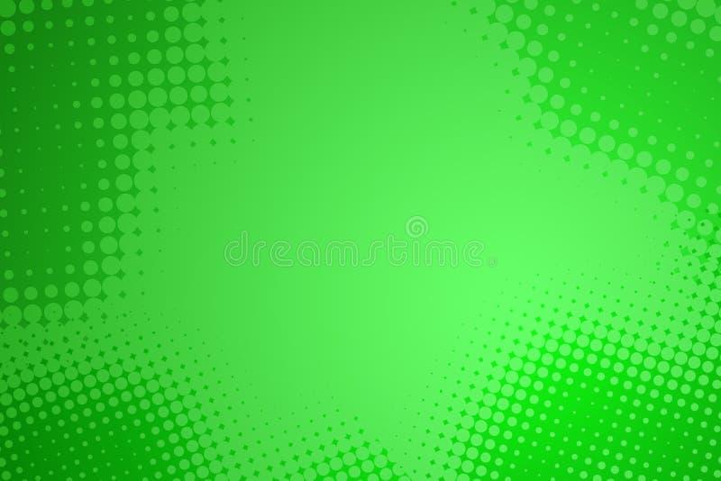 image tramée abstraite de vert de point de fond illustration stock