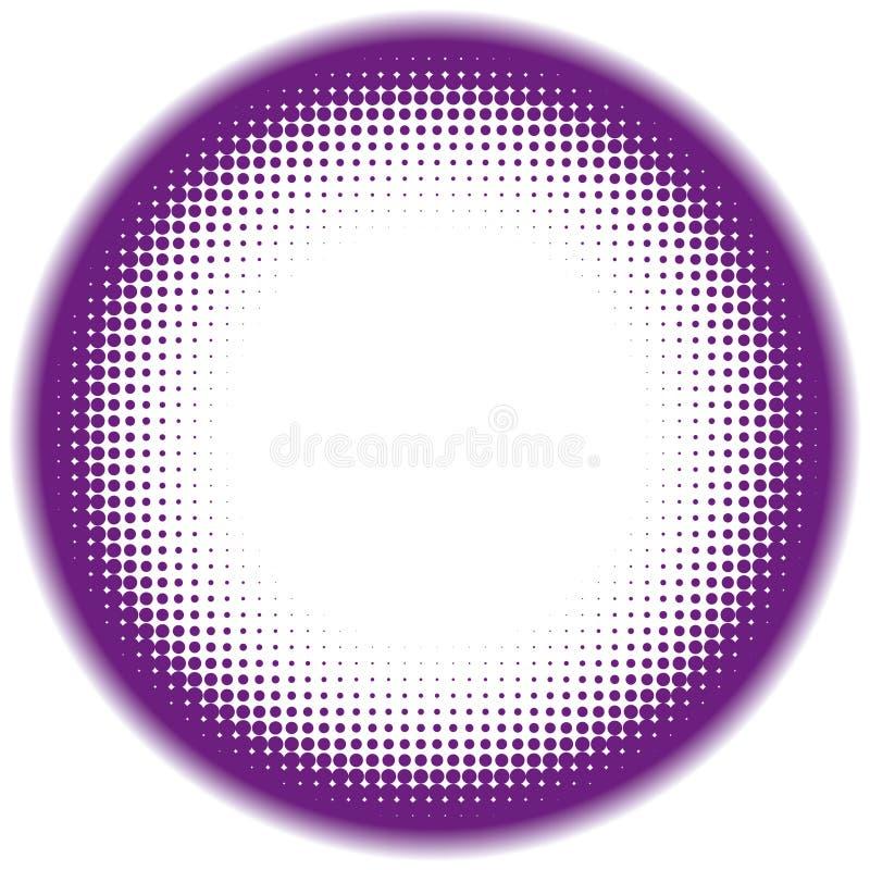 image tramée de trame illustration de vecteur