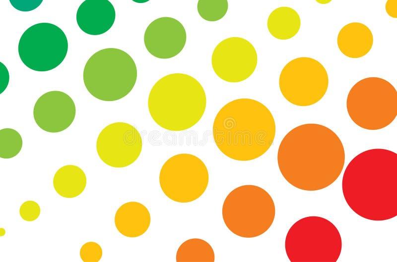 image tramée multicolore illustration stock