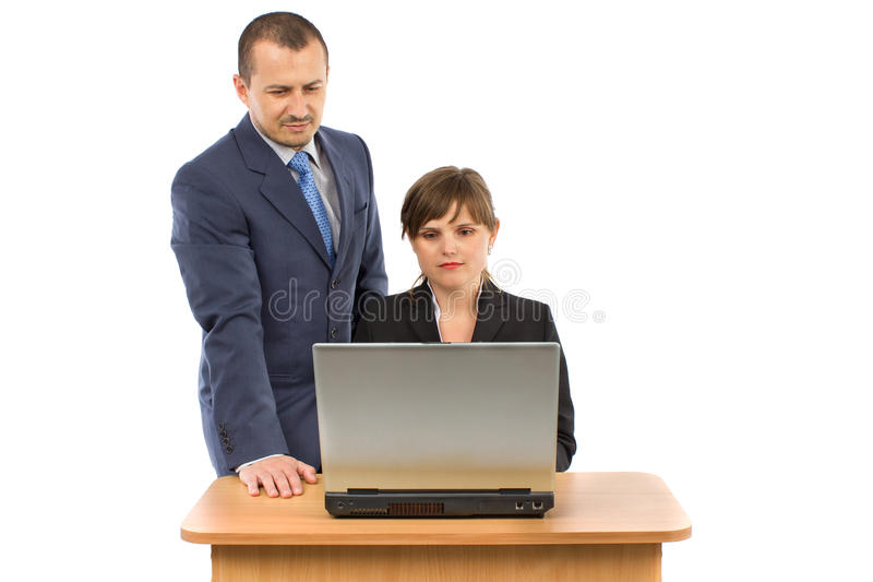 Download Image Of Two Working People Stock Photo - Image: 26249138