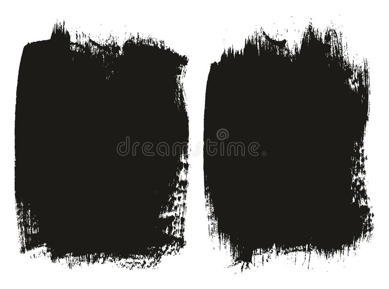 Paint Brush Medium Background High Detail Abstract Vector Background Set 118. This image is a vector illustration and can be scaled to any size without loss of royalty free illustration
