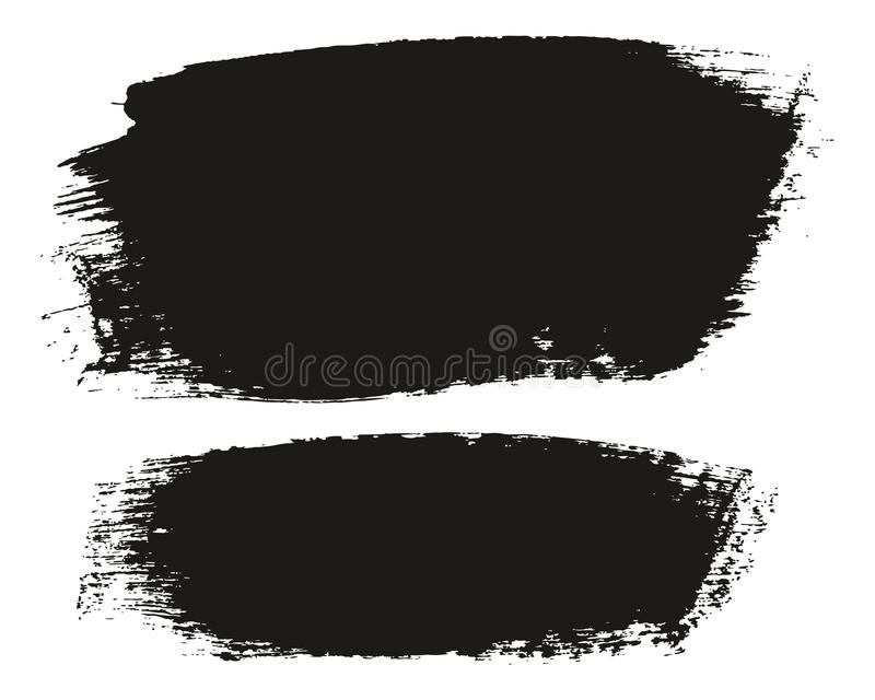 Paint Brush Medium Background High Detail Abstract Vector Background Set 102. This image is a vector illustration and can be scaled to any size without loss of vector illustration
