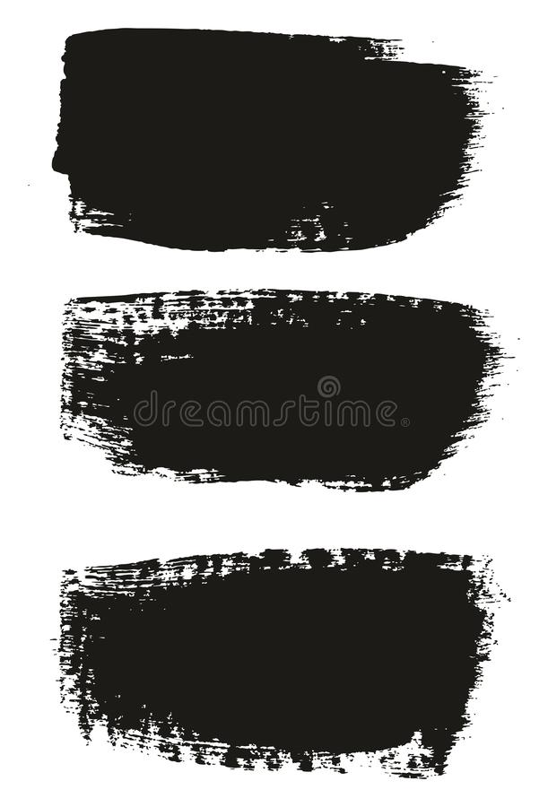 Paint Brush Medium Background High Detail Abstract Vector Background Set 58. This image is a vector illustration and can be scaled to any size without loss of vector illustration