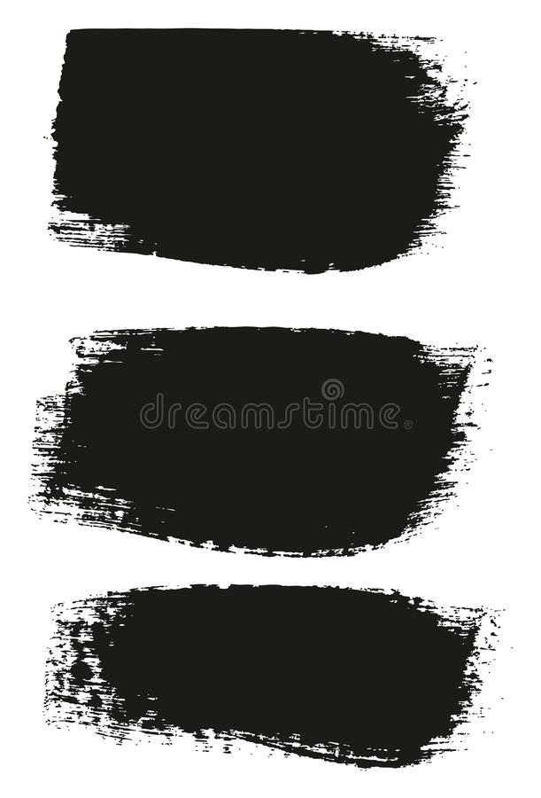 Paint Brush Medium Background High Detail Abstract Vector Background Set 49. This image is a vector illustration and can be scaled to any size without loss of vector illustration