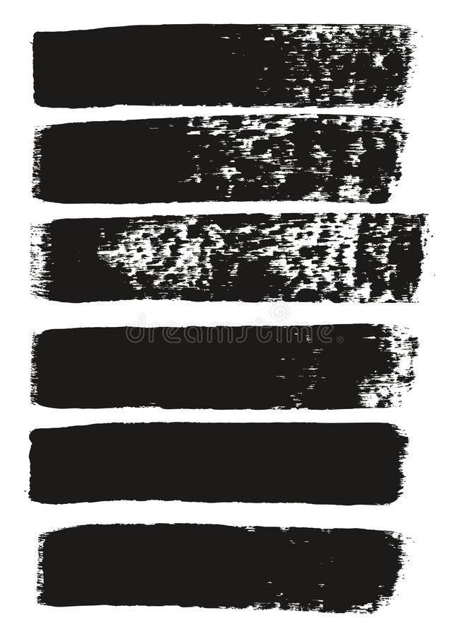 Paint Brush Medium Lines High Detail Abstract Vector Background Set 104. This image is a vector illustration and can be scaled to any size without loss of vector illustration