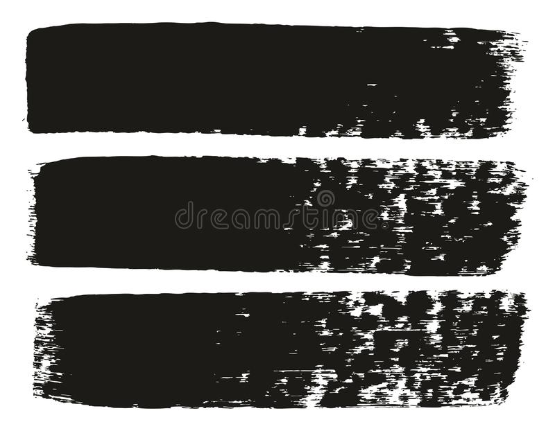 Paint Brush Medium Lines High Detail Abstract Vector Background Set 71. This image is a vector illustration and can be scaled to any size without loss of stock illustration