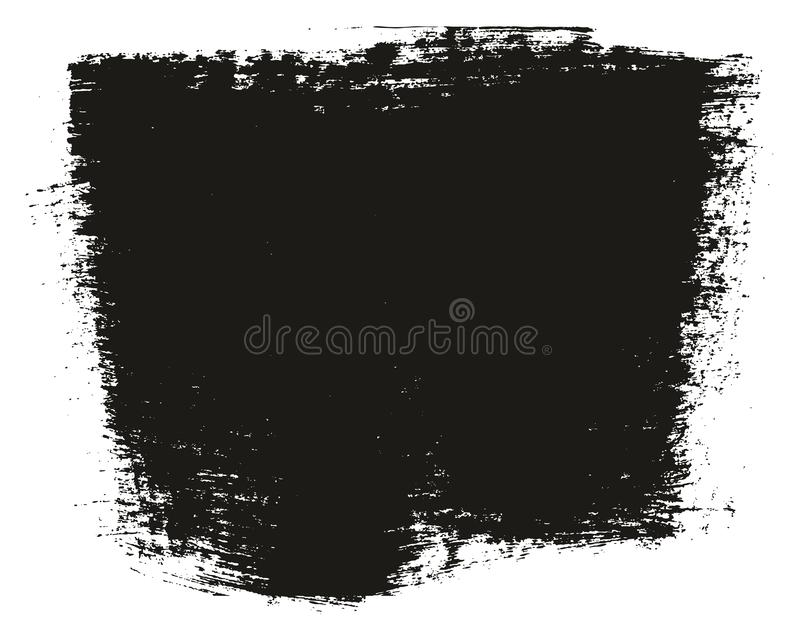 Paint Brush Wide Background High Detail Abstract Vector Background Set 63. This image is a vector illustration and can be scaled to any size without loss of stock illustration