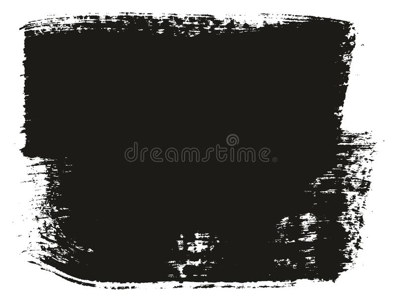 Paint Brush Wide Background High Detail Abstract Vector Background Set 61. This image is a vector illustration and can be scaled to any size without loss of royalty free illustration