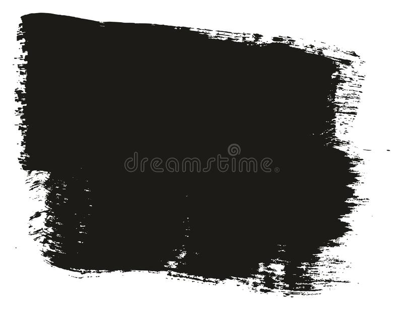 Paint Brush Wide Background High Detail Abstract Vector Background Set 47. This image is a vector illustration and can be scaled to any size without loss of stock illustration