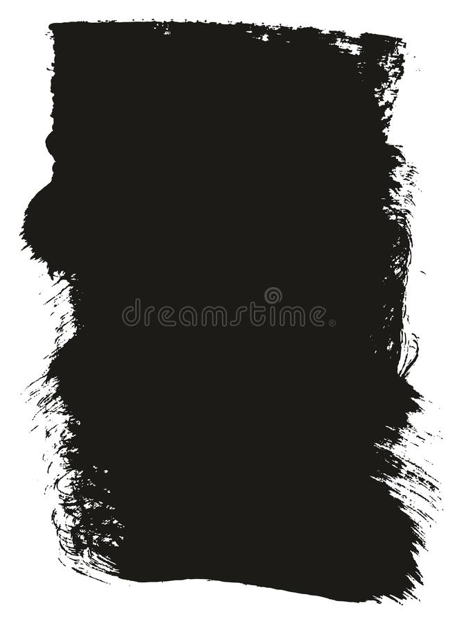 Paint Brush Wide Background High Detail Abstract Vector Background Set 13. This image is a vector illustration and can be scaled to any size without loss of stock illustration