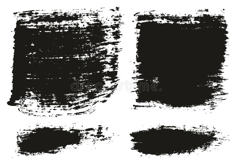 Paint Brush Wide Lines High Detail Abstract Vector Background Set 87. This image is a vector illustration and can be scaled to any size without loss of royalty free illustration