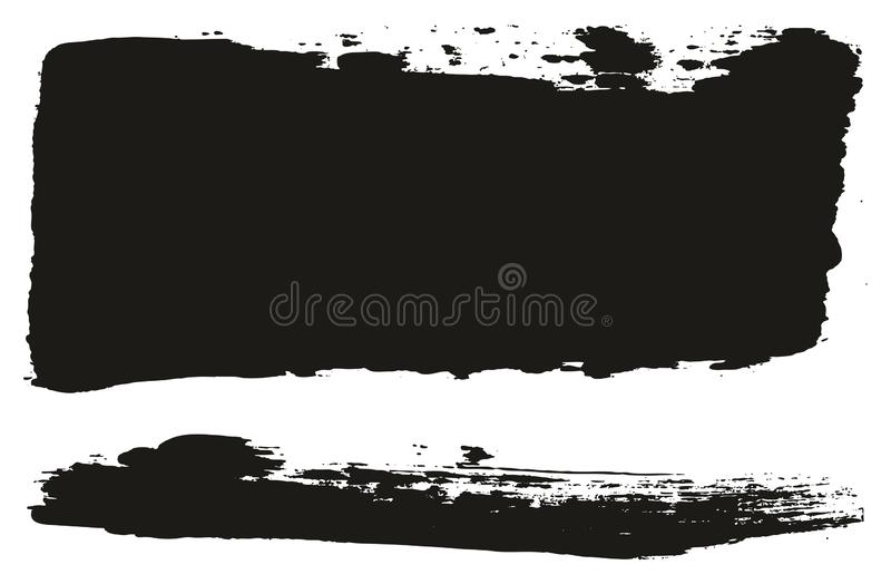 Paint Brush Wide Lines High Detail Abstract Vector Background Set 62. This image is a vector illustration and can be scaled to any size without loss of stock illustration