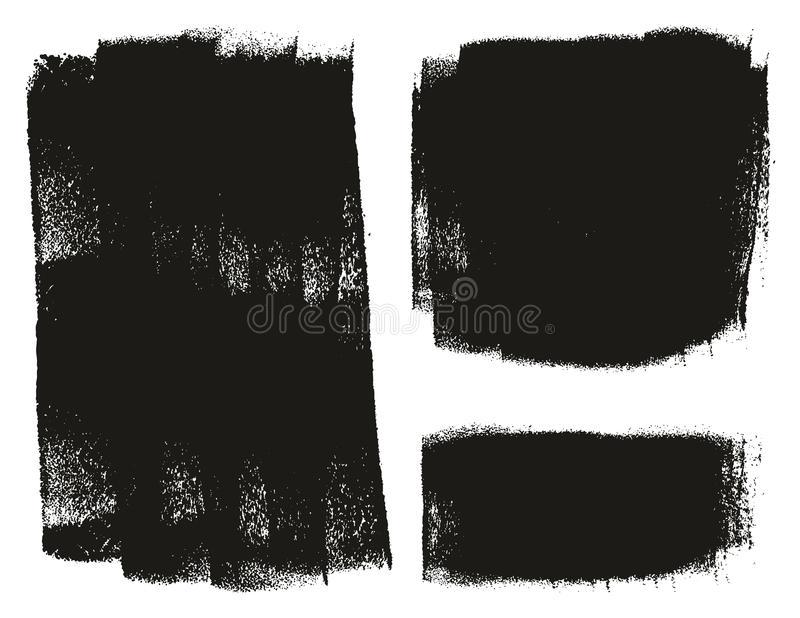 Paint Roller Background High Detail Abstract Vector Background Set 145 royalty free illustration