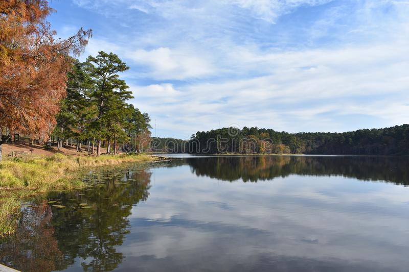 Daingerfield State Park in Texas royalty free stock images