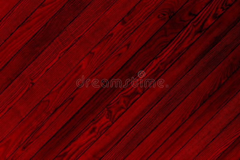 Texture of Red Wooden Bars for Background. Image of wooden bars texture with dark red color for abstract background royalty free stock image