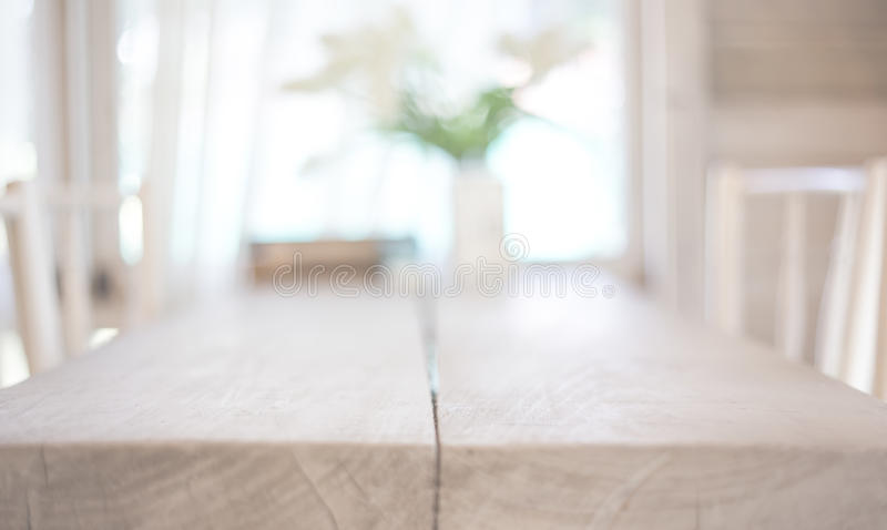 Image of wooden table stock images