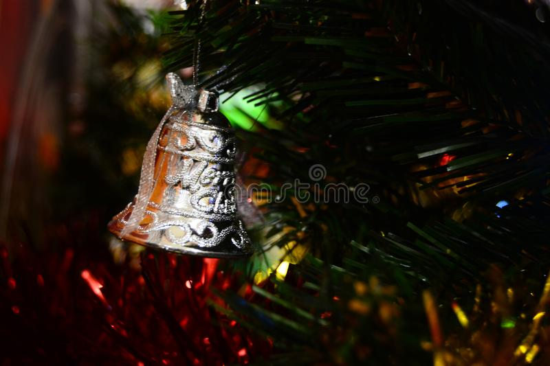 Christmas bell for brosur and banner. This Image for your banner and poster business royalty free stock photo