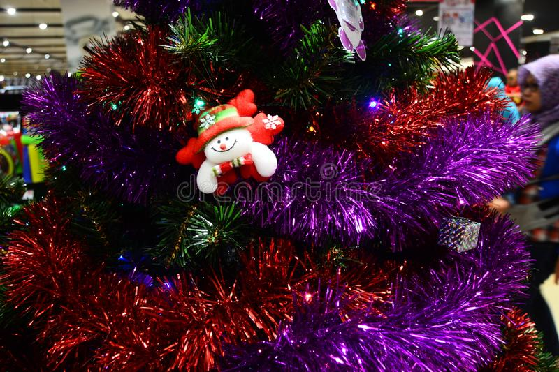 Christmas doll for brosur and banner. This Image for your banner and poster business royalty free stock image