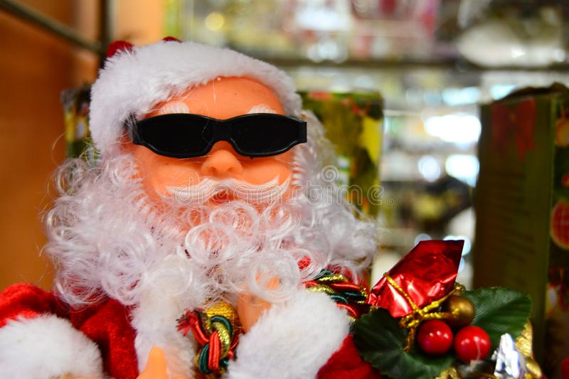 Santa Claus doll for your banner and Brochure. This image for your banner and poster stock photography