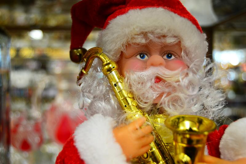 Santa Claus doll for your banner and Brochure. This image for your banner and poster stock image