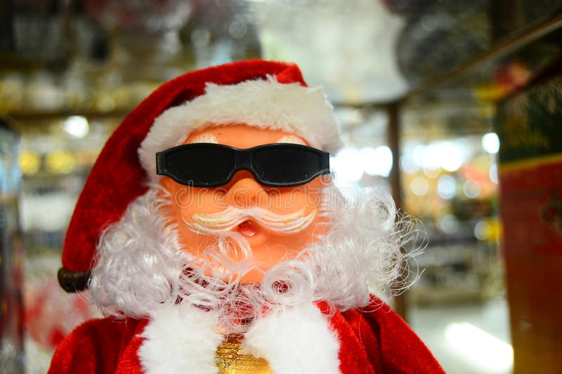 Santa Claus doll for your banner and Brochure. This image for your banner and poster stock photo