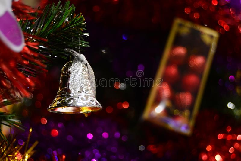 Merry Christmas Bell for brosur and banner. This Image for your christmas ceremony and your business royalty free stock images