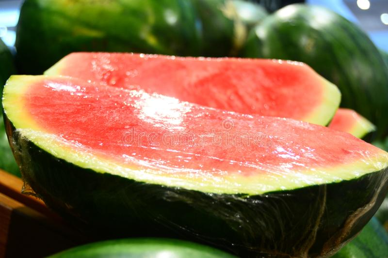 Water Melon for your banner and brochure. This Image for your Fruit and Vegetable Business stock images