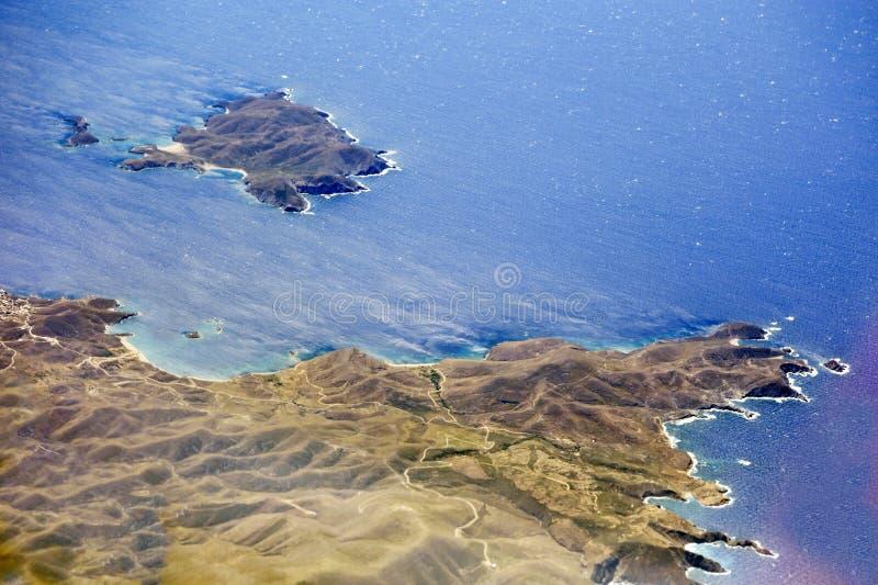 Imagem aérea foto de stock royalty free