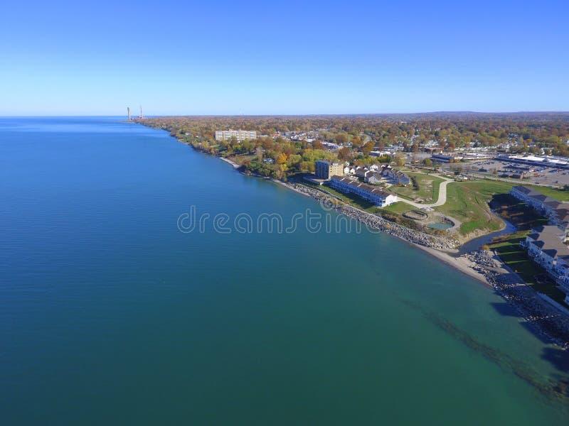 Imagem aérea Willowock Ohio fotos de stock royalty free
