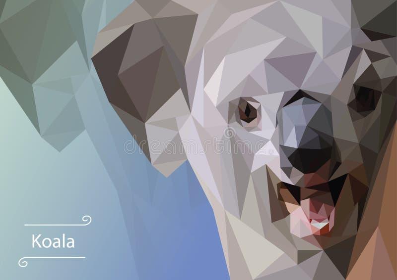 Imagem abstrata da coala Ilustra??o fotos de stock