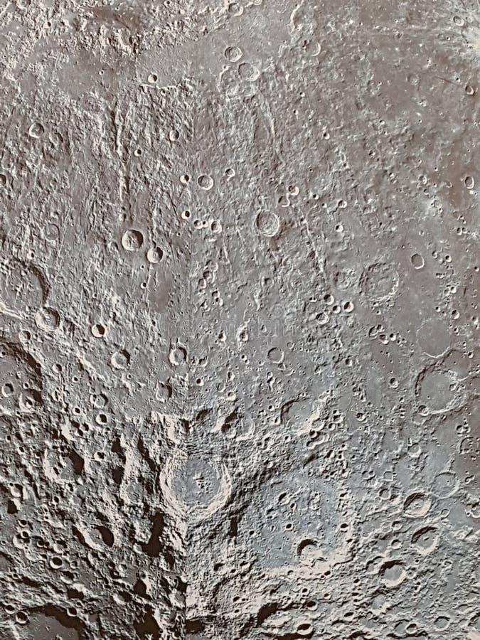 Imagem abstrata da superfície lunar fotografia de stock