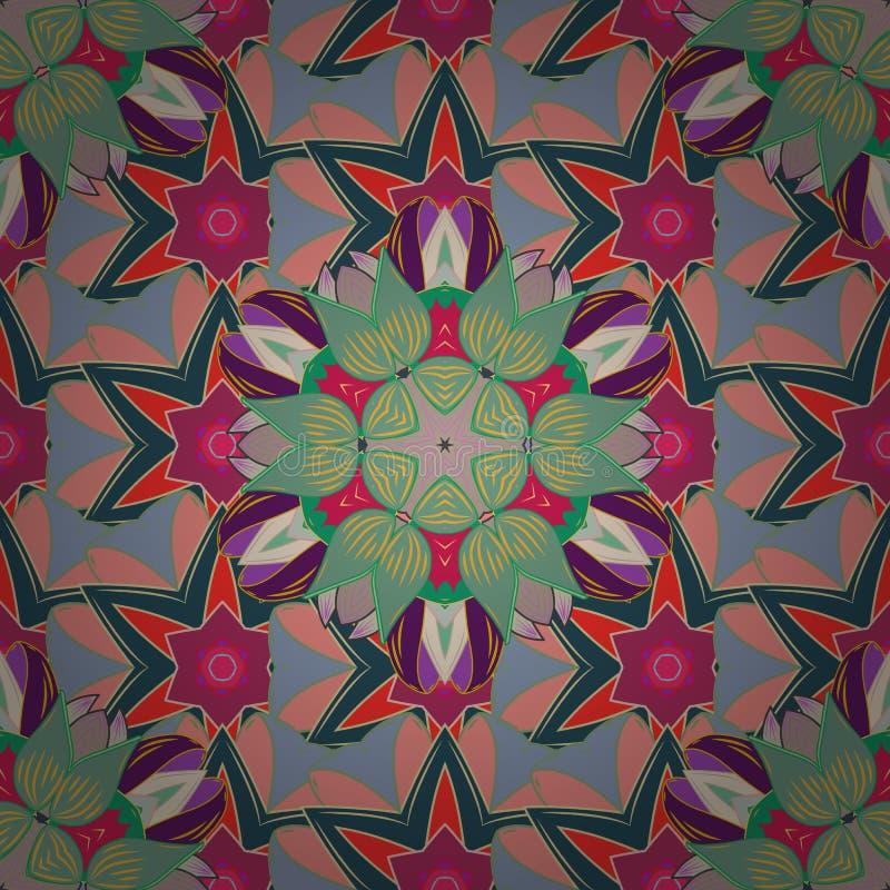 Imagem abstrata das cores ilustração do vetor
