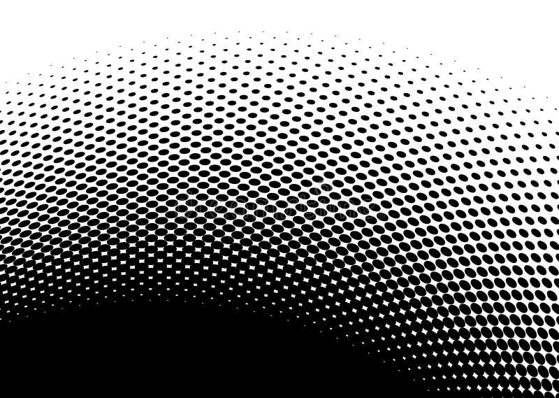 Imagem abstrata de intervalo mínimo preta ilustração do vetor