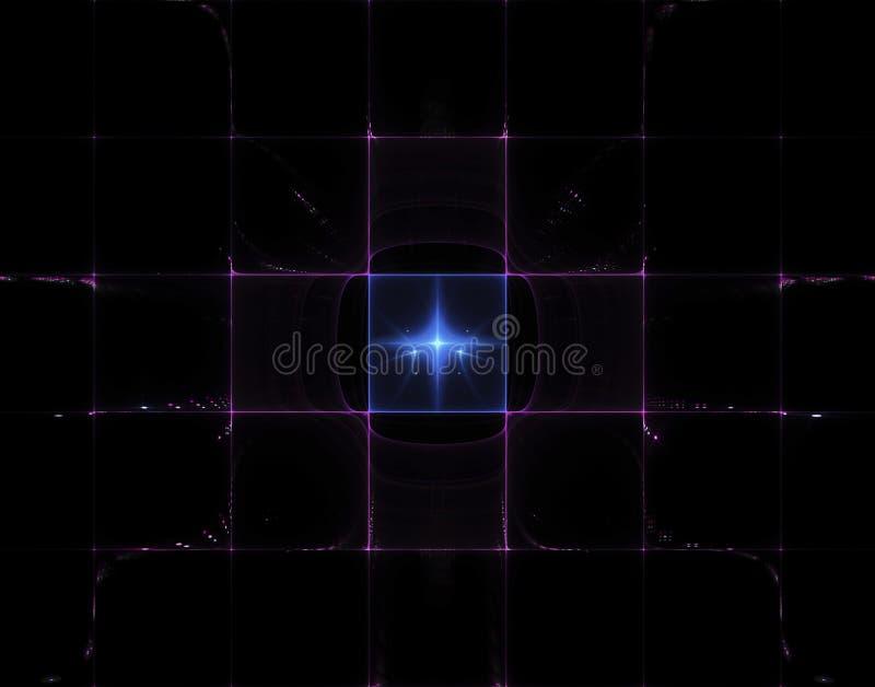 Imagem abstrata do fractal ilustração royalty free