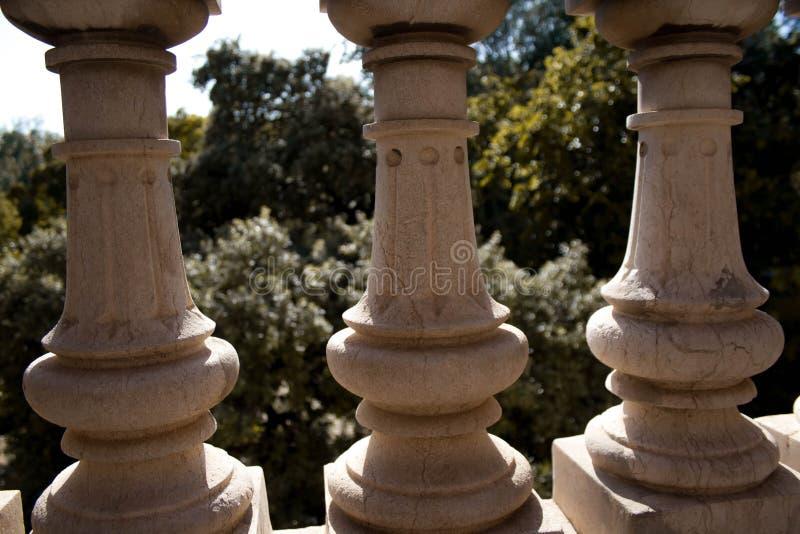 Imagem abstrata do parque de Ciutadella fotografia de stock royalty free