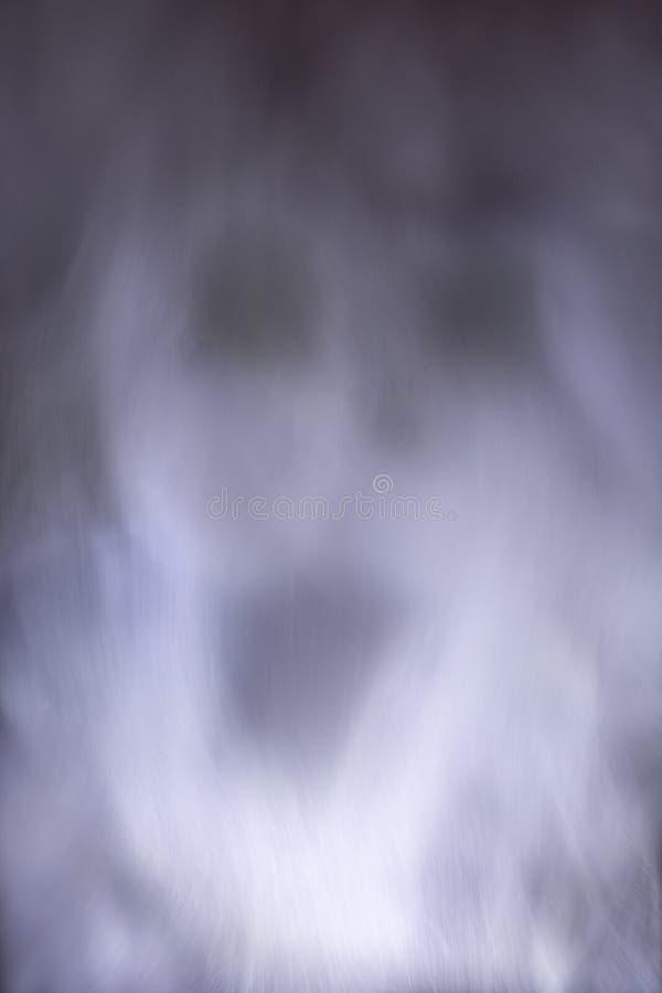 Imagem abstrata do vapor de água que mostra um fantasma foto de stock royalty free