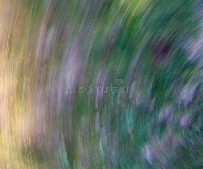 Imagem abstrata feita pelo zangão durante a queda, fundo imagem de stock