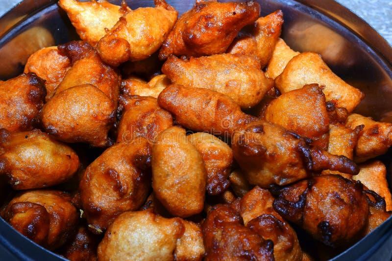 Imagem agradável da bolinha de massa doce indiana do prato imagem de stock royalty free