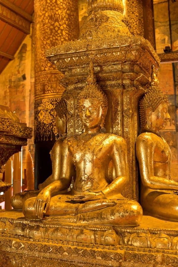Imagem antiga de Buddha imagem de stock royalty free