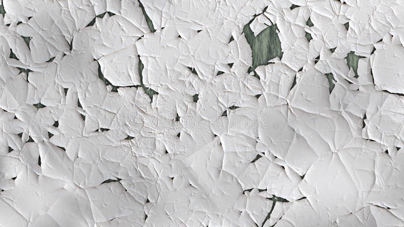Imagem clara de Grey Grunge Wall Texture Background ilustração stock