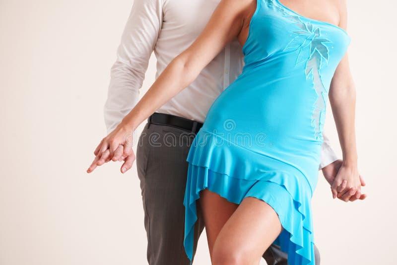 Imagem colhida da dança dos pares imagens de stock