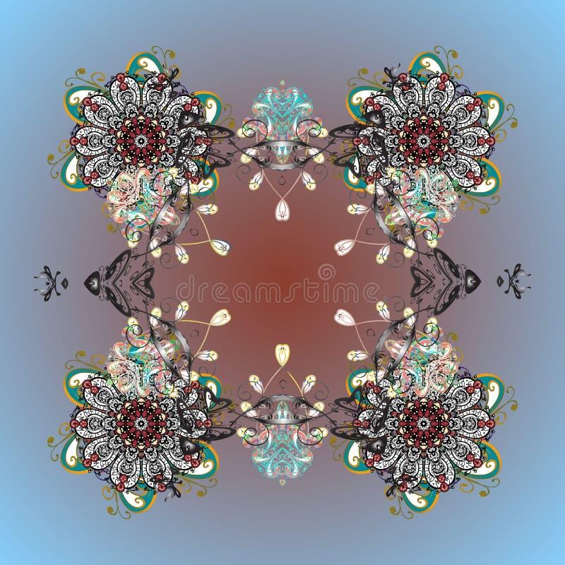 Imagem colorida sumário ilustração do vetor