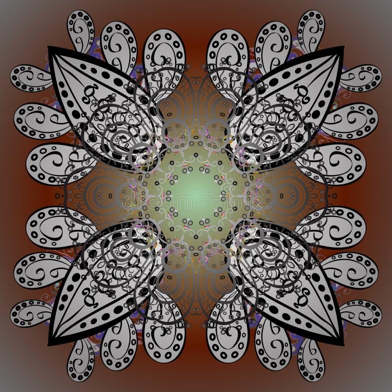 Imagem colorida sumário ilustração stock