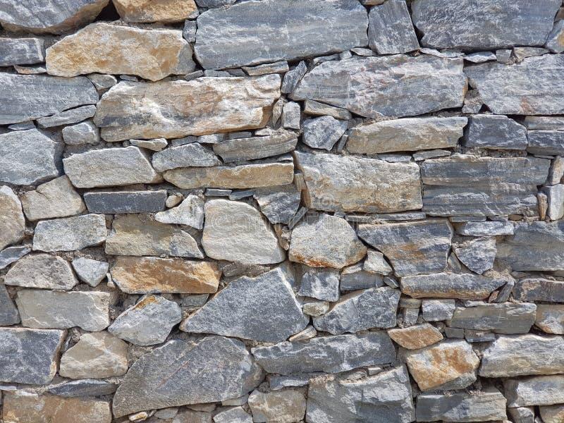 Imagem completa do quadro da parede do granito fotografia de stock