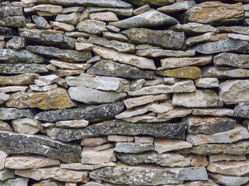 Imagem completa do quadro da parede da pedra calcária imagem de stock royalty free